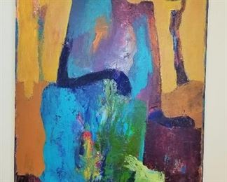 "Goli Mahallati - ""In Bloom"" Original on Canvas"