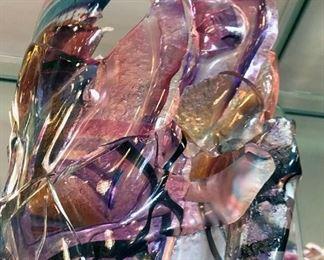 Caleb Nichols Glass Sculpture