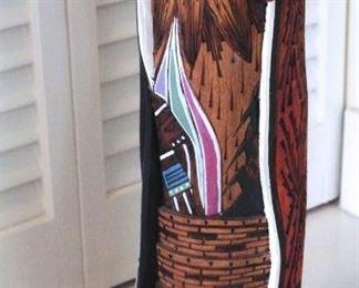 Native American Totem Statue