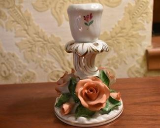 Herend candle holder