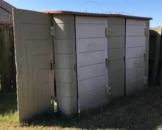 Tough shed