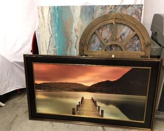 Lots of great pictures and wall art in this sale.