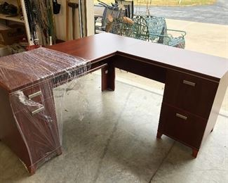 Several desks from large to small in this sale. If you are setting up your work space you don't want to miss this one!