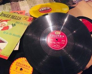 1940's-1950's  records
