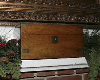 """ONE OF SEVERAL NICE WOODEN BOXES, """"CHRISTMAS GIFT"""""""