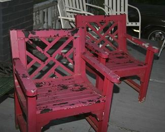 METAL CHAIRS - READY FOR YOUR FINISH