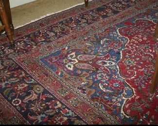 LOVELY 10' X 14' WOOL RUG, GREAT CONDITION