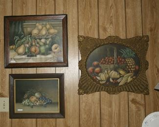 ALL ARE OLD PRINTS IN ORIGINAL FRAMES, ALL IN GREAT CONDITION