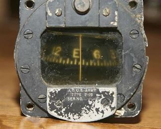 WW2 US ARMY AIR FORCE BENDIX DIRECT NG MAGNETIC COMPASS TYPE B16 31/4X4
