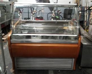 Sever 230v 12 slot Gelato freezer needs compressor