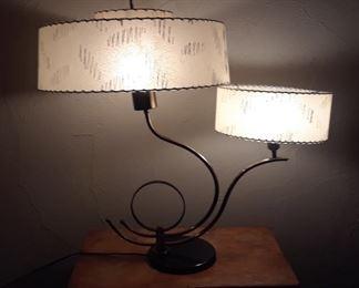 Stunning Large Mid Century Majestic Lamp