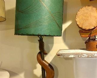 Aqua lamp detail