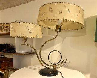 Mid Century lamp detail