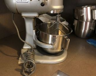 Hobart N50 Multifunction Mixer with attachments