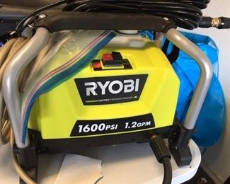 Ryobi 1600 PSI power washer