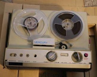 Mercury portable reel to reel tape deck