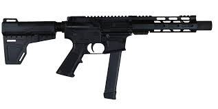 M-215 9 MM Pistol With Shoulder Brace & 30 Round Magazine  Made by I.O.      Buyers must first pass background  check  & three day waiting period before  receiving