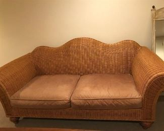 Woven Couch - like new ($400)