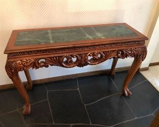 Ornate Carved Table