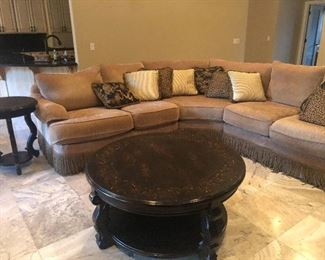 Thomasville sectional in excellent condition.  No sign of wear or stains.