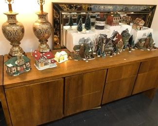 Department 56 Houses, Bombay Gold Lamps, Credenza