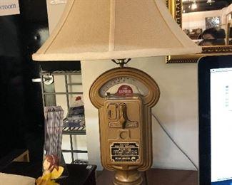Parking Penny Duncan meter lamp from Elk Grove Village