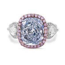 Lot 481 Fancy Blue Diamond  GIA