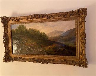 Painting by H.J. Boddington (English 1811-1855)