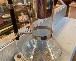 Hukin & Heath English Silverplated Claret Jug- Last Quarter 19th c. Designed by Christopher Dresser