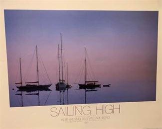 Sailing High Poster #2 https://ctbids.com/#!/description/share/279437