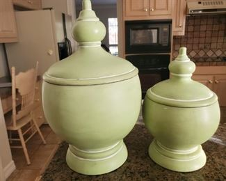Urn for father, much smaller urn for mother that is only 4 foot ten on a good day.  Hey I am only speaking from experience.