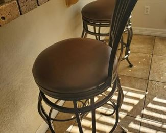 Bar Stools.  I can see myself on the floor beside one of these.