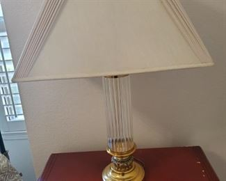 It's a lamp.  Please do not call me about another freakin lamp.  Yes, they work, yes they are upright, yes they are for sale.