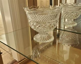 Crystal Bowl.  Or a chamber pot for rich people.
