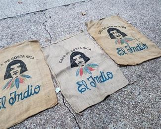 Coffee Bean bags.  Wrap your tropical trees with these. They're burlap
