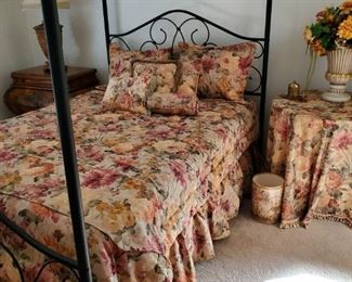 Bedding for the Boudoir...Bed sold seperately