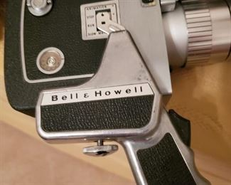 Bell and Howell Director's Camera