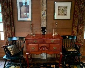 Country Club Chairs, art and decor - the house is FULL!