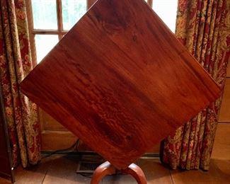 Gorgeous antique tilt-top table!