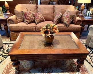 """Sofa - 2 years old and NEVER used! Fairfield Custom Upholstery - 90"""""""