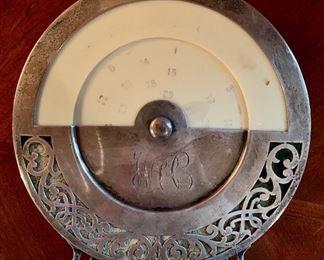 Antique Sterling Perpetual Calendar