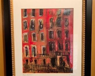 Litho - Lower East Side Manhattan