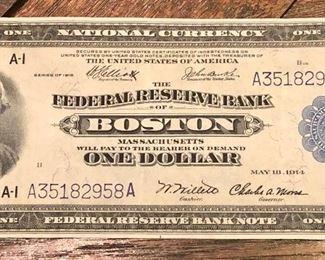 Federal Reserve Bank - Boston, 1918