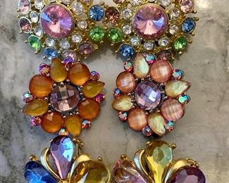 2- clip and 1-pierced - pretty!