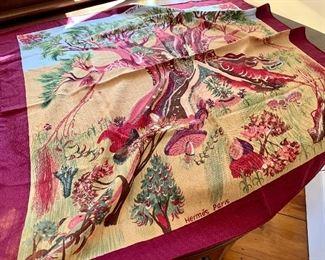Hermes Kuggor Tree, Cashmere and Silk - artist SEFEDINE KWUMI