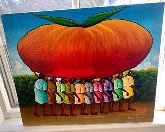 Original by Francis Paraison, Haitian Artist