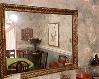 Gorgeous Gilded Mirror