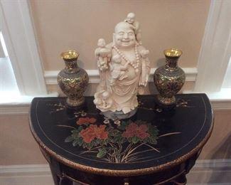 A happy Buddha