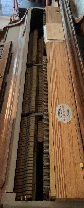 Kimball Upright Console Piano41x58x25HxWxD