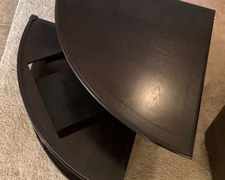 Magnussen T1124 Darien Wood Wedge Shaped Coffee Table19x36x36inHxWxD